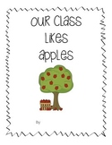 Class book for apple tasting