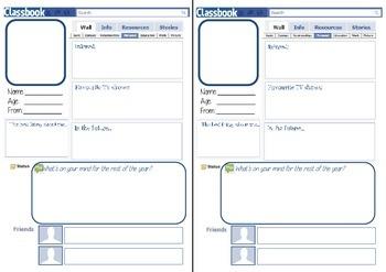 Classbook Profile Sheet