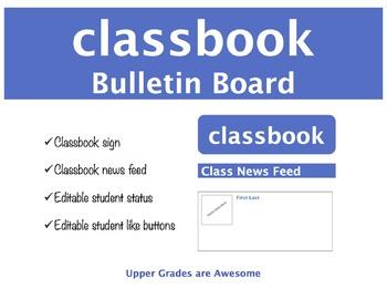 Classbook Student Status Bulletin Board