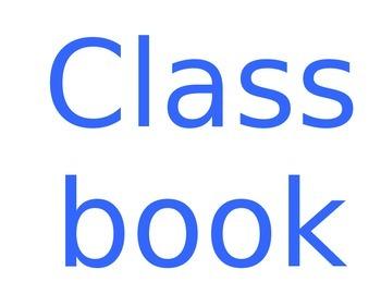 Classbook learning update