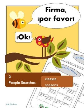Classes & Seasons, Beginner's Vocabulary: 2 Spanish Commun