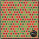 Classic Christmas Dots on Burlap Digital Papers {Commercia