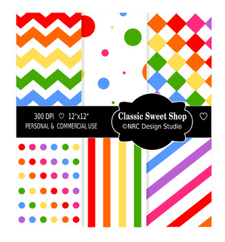 Classic Sweet Shop Paper Pack