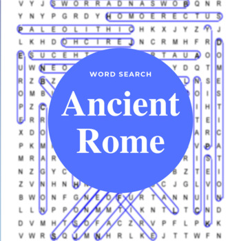 Classical / Ancient Rome Word Search