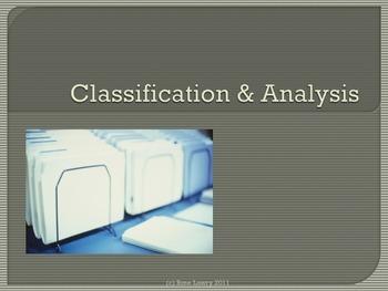 Classification & Analysis Presentation