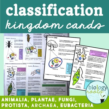 Classification Cards