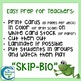 Classification Hierarchy Skip-Bio Card Game