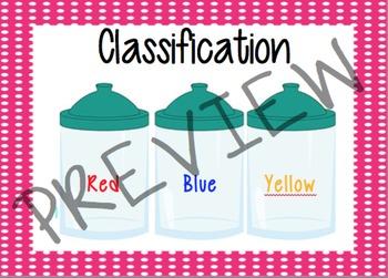 Classification Math Cards