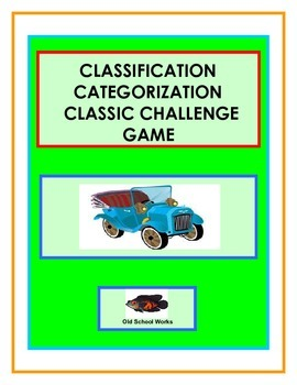 Category Challenge Game