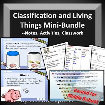 Classification and Living Things Mini-Bundle-Test, StudyGu