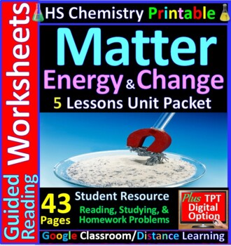 Types of Matter (Elements, Compounds, Mixtures) - Guided S