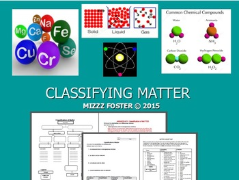 Classification of Matter: Questions, Practice, Concept map