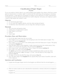 Classification of Paper Shapes Worksheet