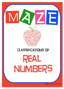 Maze - Classifications Real Numbers (naturals, integers, r