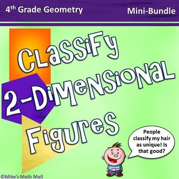 Classify Two-Dimensional Figures (Mini-Bundle)