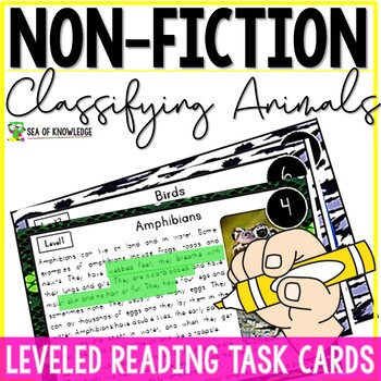 Classifying Animals Nonfiction Reading Comprehension