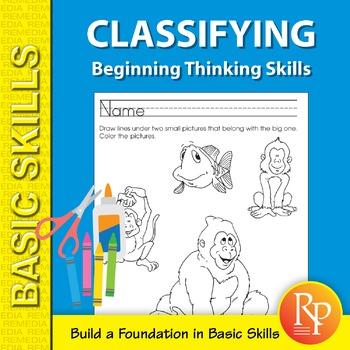 Classifying: Beginning Thinking Skills