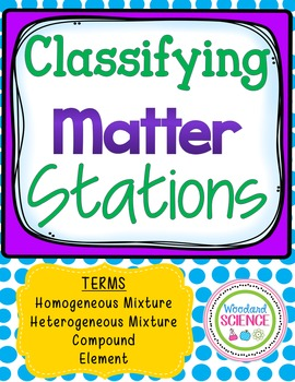 Classifying Matter Stations