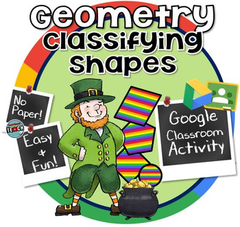 Classifying Shapes by their Attributes - St. Patrick's Day