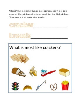 Classifying Sorting Similar Objects #19 Following Directio