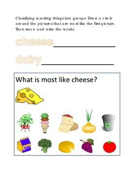 Classifying Sorting Similar Objects #20 Following Directio