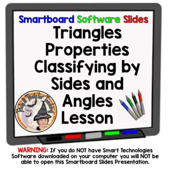 Classifying Triangles Classify Triangles Smartboard Lesson