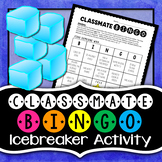Classmate Bingo {EDITABLE} Icebreaker Activity