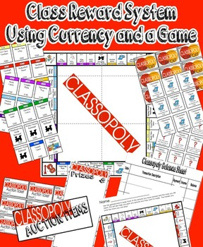 Classopoly Reward System Using Currency and a Game