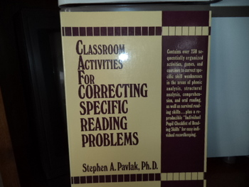 Çlassroom Actiities for orrecting Specific Reading Problem