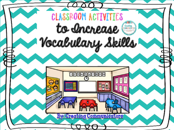 Classroom Activities to Increase Vocabulary Skills