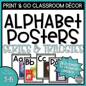 Classroom Alphabet Posters: Intermediate Series & Trilogies
