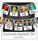 Classroom Alphabet Set - Traditional Style Script {Polaroi