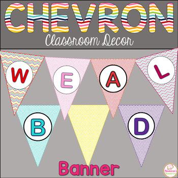 Classroom Banner [Chevron Theme]