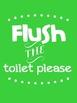 Classroom Bathroom Signs
