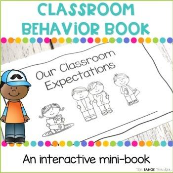 Classroom Behavior Book