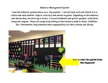 Classroom Behavior Management System