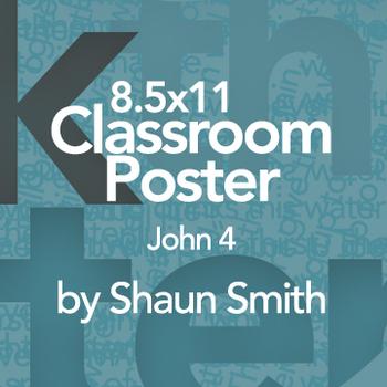 Classroom Bible Poster - John 4