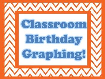 FREE - Classroom Birthday Graphing Activity