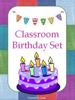 Classroom Birthday Set