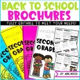 Back to School Brochure/Open House {EDITABLE}