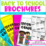 Back to School Brochure/Open House {EDITABLE}