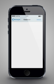 Classroom Bulletin Board: iPhone Poster