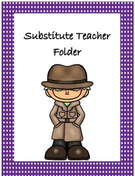Classroom Bundle~ Purple Polka Dot Detective