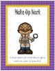 Classroom Bundle~ Purple Polka Dot with Gold Trim Detective