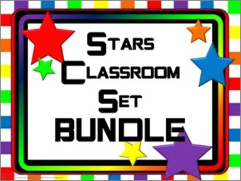 Classroom Bundle- Stars