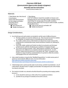 Classrm CORE Book Instr(CommunicationOpportunReadilyEngine