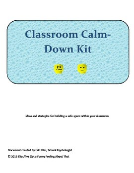 Classroom Calm-Down Kit