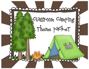 Classroom Camping Theme Pack