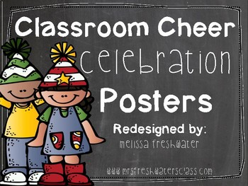Classroom Celebration Cheer Posters