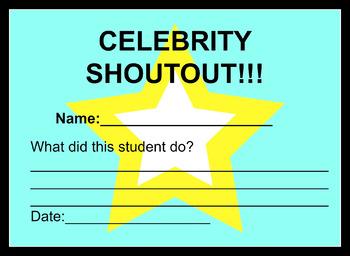 "Classroom ""Celebrity Shoutout"""